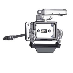 Panel Interface Connector with, USB-10, in a 06LS housing