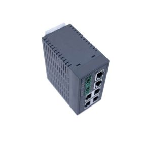 6-Port Unmanaged Fast Ethernet Switch, Plastic housing