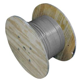 DeviceNet Trunk, Raw Spool Cable, 5 Pole, 15/18awg, Gray, PVC, 500 ft.