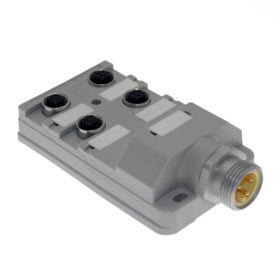JAC Junction Blocks, 3 Pin, 4 Port, No Led, 6 Pin MIN Size I Home Run Connector