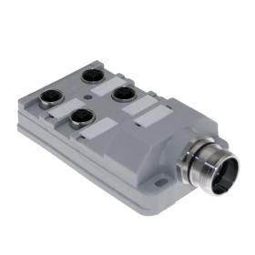 JAC Junction Blocks, 3 Pin, 4 Port, No Led, MCV Home Run Connector