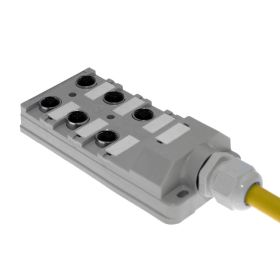 JAC Junction Blocks, 3 Pin, 6 Port, No Led, 10 Meters of Home Run Cable