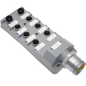 JAC Junction Blocks, 3 Pin, 8 Port, No Led, MIN Size III Home Run Connector
