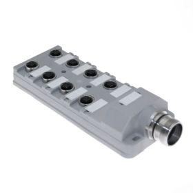 JAC Junction Blocks, 3 Pin, 8 Port, No Led, MCV Home Run Connector
