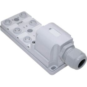 JAN Junction Blocks, 3 Pin, 6 Port, PNP, Field Wireable Home Run Connector
