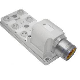 JAN Junction Blocks, 3 Pin, 6 Port, PNP, MIN Size II Home Run Connector