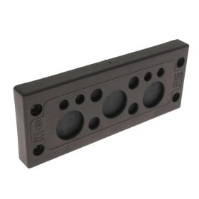 KADP Cable Entry Plate, 11 Entries, 4 x 3.0-6.5mm, 4 x 5.0-9.2mm, and 3 x 14.0-20.0mm