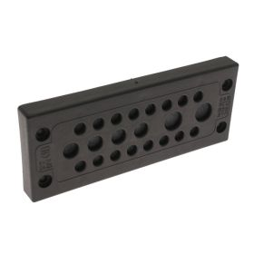 KADP Cable Entry Plate, 22 Entries, 16 x 3.0-6.5mm, 4 x 5.0-9.2mm, 2 x 8.0-12.5mm