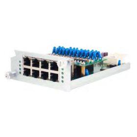 8-Port RJ45 10/100/1000 BaseT(X) Power over Ethernet (PoE) Module