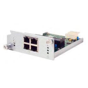 4-Port RJ45 10/100/1000 BaseT(X) Module with Secure MACsec, Layer 3 Models Only