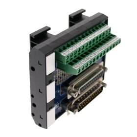 T35 DIN Rail Modules with 25 Pin Male/Female D-Sub, Terminal Block and Marker Cap