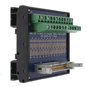 T35 DIN Rail Modules with 26 Pin Ribbon Cable and Terminal Block