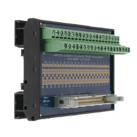 T35 DIN Rail Modules with 40 Pin Ribbon Cable and Terminal Block