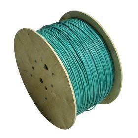 Ethernet, Shielded, Raw Spool Cable, 8 Pole, 24awg, 1000 ft, Teal, TPE