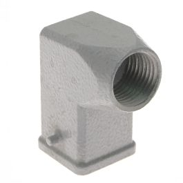 Standard, Rectangular Hood, size 21.21, 2 Pegs, Side .5-NPT cable entry