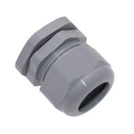M25, Plastic Gland, Gray, 0.351 - 0.546