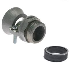 PG42, Nickel Plated Brass, Collar, Cable Gland, 1.378 - 1.83