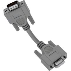 Panel Interface Connector, Double Density 15 pin D-sub male to female cable, 25'