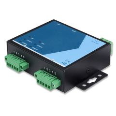 2-Port Serial Device Server, RS-422/485, Terminal Block, 2KV Isolation, Metal Housing