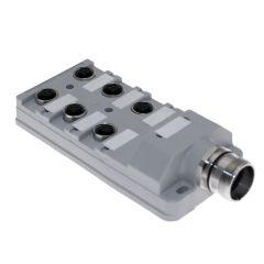 JAC Junction Blocks, 3 Pin, 6 Port, No Led, MCV Home Run Connector