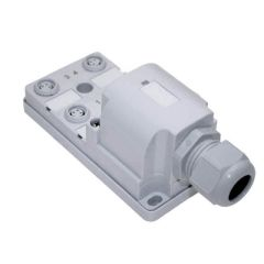 JAN Junction Blocks, 3 Pin, 4 Port, No Led, Field Wireable Home Run Connector