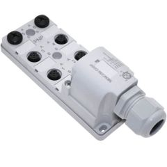 JDC Junction Blocks, 5 Pin, 6 Port, No Led, Field Wireable Home Run Connector