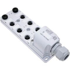 JDC Junction Blocks, 4 Pin, 8 Port, No Led, Field Wireable Home Run Connector