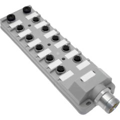 JDC Junction Blocks, 4 Pin, 12 Port, NPN, MIN Size III Home Run Connector