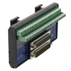 T35 DIN Rail Modules with 50 Pin Male/Female D-Sub and Terminal Block