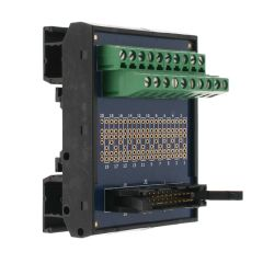 T35 DIN Rail Modules with 20 Pin Ribbon Cable and Terminal Block