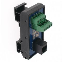 T35 DIN Rail Modules with RJ12 and Terminal Block