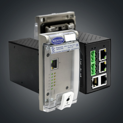 5-Port Unmanaged Fast Ethernet Switch, in a Single Cover Housing
