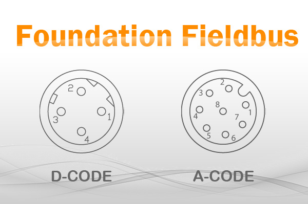 Foundation fieldbus circular connectors