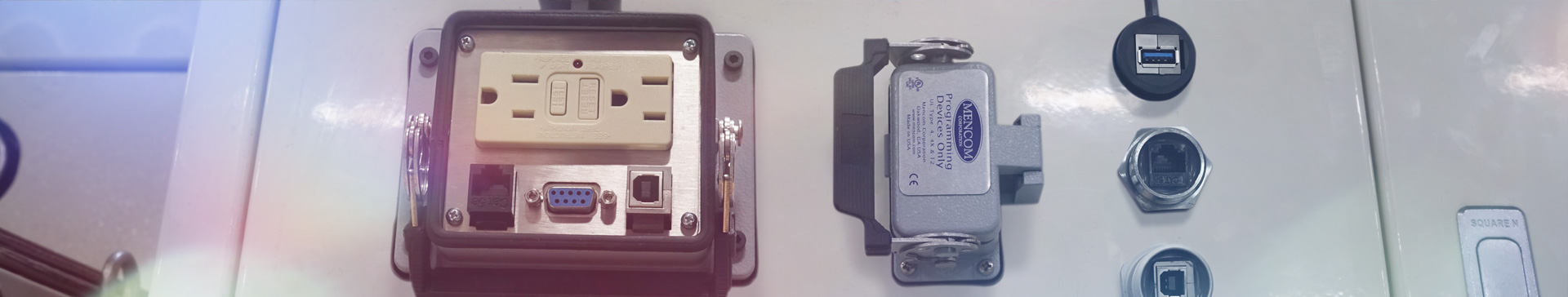 panel interface connectors